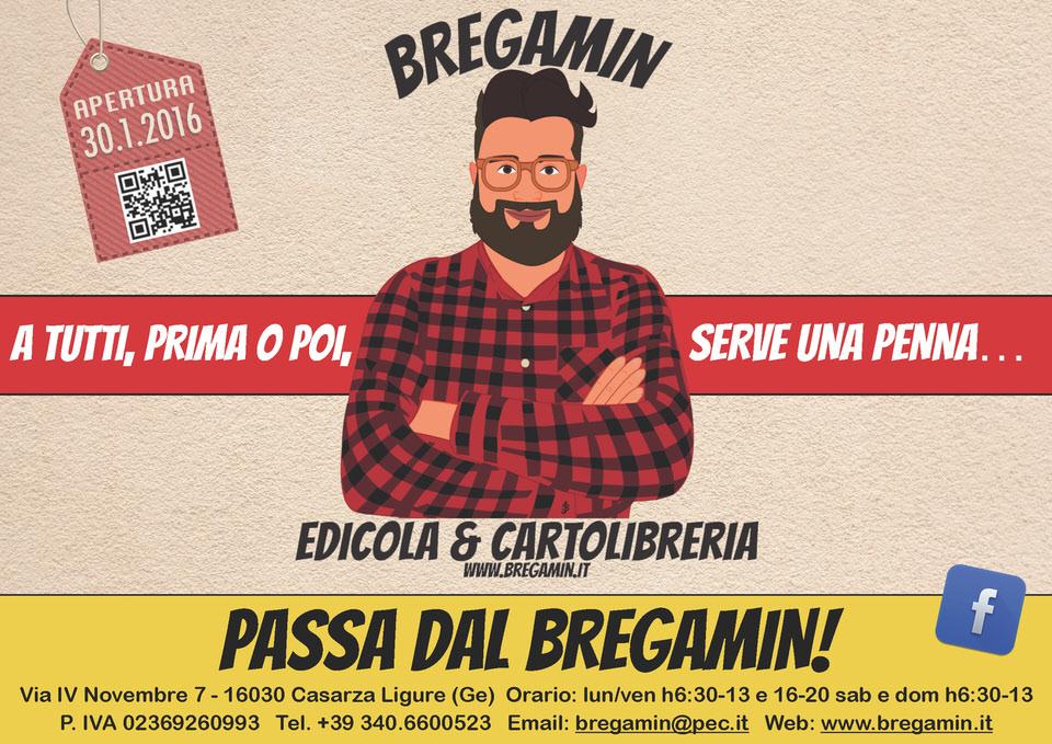 Bregamin Edicola & Cartoleria - A tutti, prima o poi, serve una penna