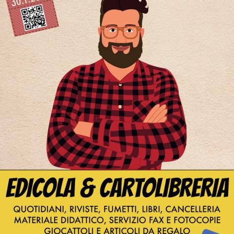 Bregamin Edicola & Cartoleria - flyer inaugurazione