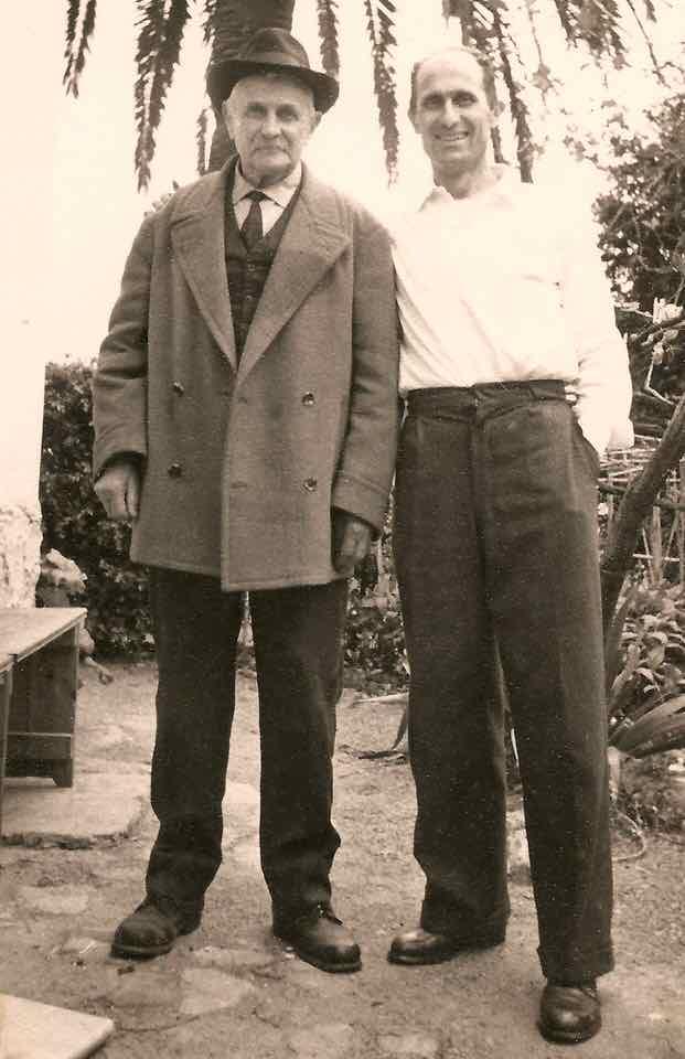 Giovanni e Alfredo Cafferata Bregamin